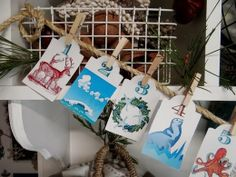 ...a quiet life...: Adorable and creative advent calendar! ~~I love this ~~ I want this!!