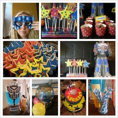 Festa temática Transformers - inspirações