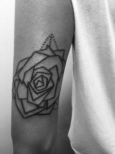 Rose Tattoo geometric Tattoo