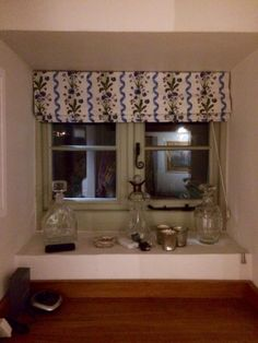 Commission to transform some old curtains into modern, fresh blinds. How To Make A Roman Blind, Roman Blinds, Valance Curtains, Upholstery, Fresh, Modern, House, Home Decor, Tapestries