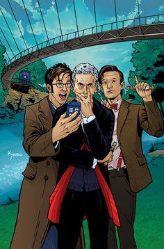 Borderlands Doctor Who by KellyYates.deviantart.com on @DeviantArt