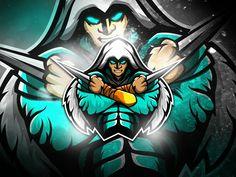 Assassin S Creed Esports Logo Team Logo Design, Logo Desing, Mascot Design, Logo Esport, Art Logo, Picture Logo, Photo Logo, Assassin Logo, Gaming Logo