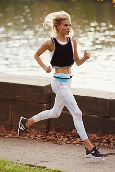 Road Runner Legging | Free People Perfect for all your workouts, these tie dye leggings feature out Picot Performance fabrication. Soft, stretchy and easy to wear.