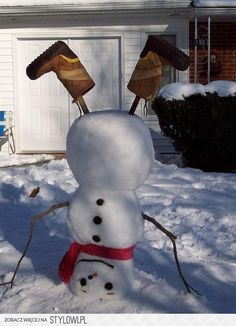 snowmen - cute and different!