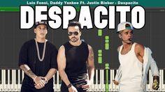Despacito (Remix) Piano Tutorial - Free Sheet Music (Luis Fonsi, Daddy Y...
