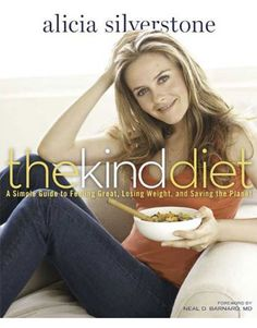 Alicia Silverstone's Recipes: See What She Eats to Stay Healthy, Energetic and Happy. These are Vegan recipes that are from her new book. If you like vegan and/or Alicia Silverstone, this is definitely worth a look. She looks amazing!