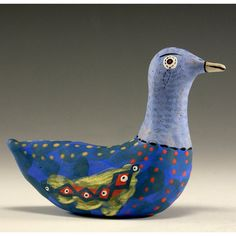 Sculpted Bird  Jamie by jennymendes on Etsy $45.00