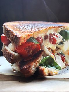 Grown-up Grilled Cheese Sandwich - Cobblestone Bread Co.