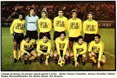 EQUIPOS DE FÚTBOL: NANTES 1975-76