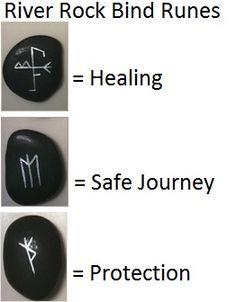 river rock bind runes
