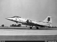 Belgian Air Force Lockheed T/F-104G Starfighter.