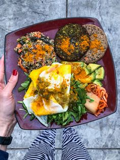 Veggie-filled weeknight dinner by A Lady Goes West