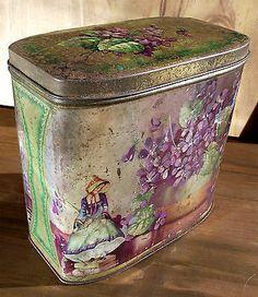 Vintage Dainty Dinah tin
