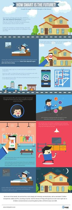 """The Internet of Things (IoT) has been labeled as """"the next Industrial Revolution"""" because of the way it will change the way people live, work, entertain, and t… Pinterest Design, Interesting Topics, Industrial Revolution, How To Get Rich, Infographics, Knowledge, Walking, Internet, Study"""