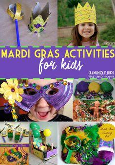 20 Mardi Gras Activi