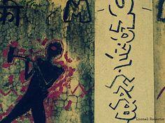 Violence. #Graffiti