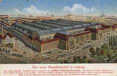 Leipzig, Sachsen: Bahnhof