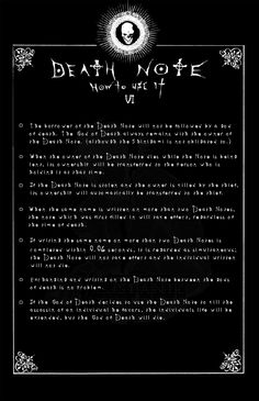 Page 6: DEATH NOTE by Leustante