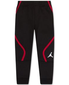 Jordan Little Boys' Air Jordan Athletic Pants - Black 7 Track Pants Mens, Track Suit Men, Jogger Pants, Joggers, Baby Boy Outfits, Cute Outfits, Cute Sweatpants, Jordan Boys, Kids Pants