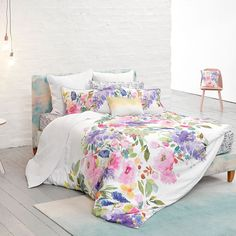 Bluebellgray Wisteria bedding