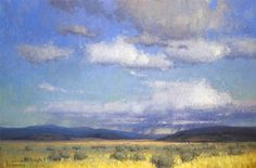 Landscape Paintings and photographs : Under Western Skies by Kim Casebeer Oil  20 x 30