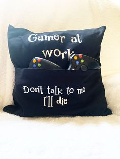 #Gamingcushion, #Geekscushioncover, #Funnycushioncover