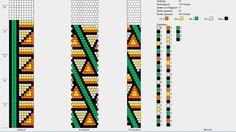 bead rope pattern Schema U10