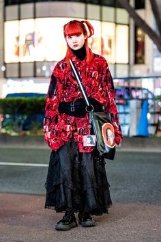The Best Street Style From Tokyo Fashion Week Fall 2018 - Vogue