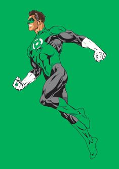 A personal favourite from my Etsy shop https://www.etsy.com/uk/listing/507287453/green-lantern-art-print-dc-comics