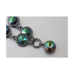 Swarovski Rivoli Necklace ($40) ❤ liked on Polyvore featuring jewelry and necklaces