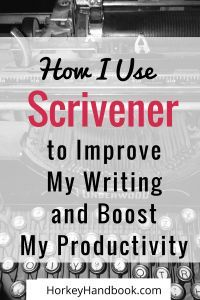 How to Use Scrivener to Boost your Productivity as a Writer