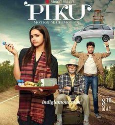Piku 2015 Hindi Movie DVDRip 700MB Free download