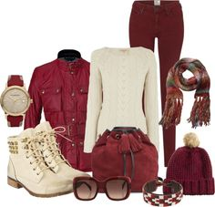 """""""Contest"""" by dgia on Polyvore  *but with tan Uggs!"""