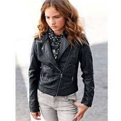Leather Jacket Teen 80