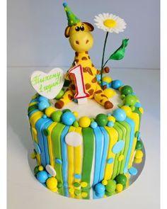 Детский торт Жираф 2