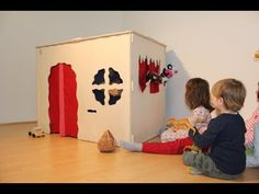 KuWiH - YouTube Toy Chest, Kids Rugs, Youtube, Home Decor, Playhouse Interior, Wooden Playhouse, Indoor Playhouse, Door Entry, Decorating