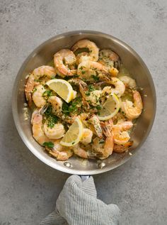 Shrimp Scampi with Z