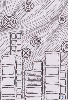 my city sleeps    by Piia Myller