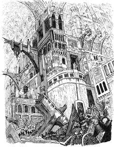 Underhive - Necromunda - Warhammer 40K - GW [by Striogi]