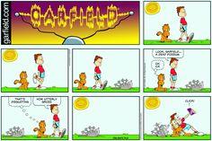 Garfield | Daily Comic Strip on August 20th, 2017