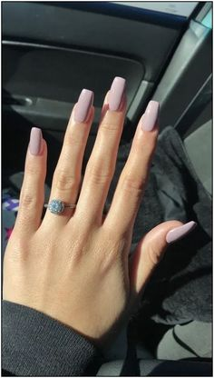 125 years of fingernail trends In search for some nail designs and ideas for your nails? Here's our list of 43 must-try coffin acrylic nails for trendy women. Simple Acrylic Nails, Fall Acrylic Nails, Pastel Nails, Acrylic Nail Designs, Simple Nails, Pastel Pink, Basic Nails, Classy Nails, Stylish Nails
