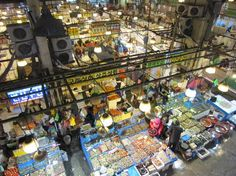 Seoul Fish Market  MUST GO!