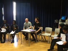 The Jacksons Lane theatre experts observing the LAUNCH workshop and sharing their expertise.