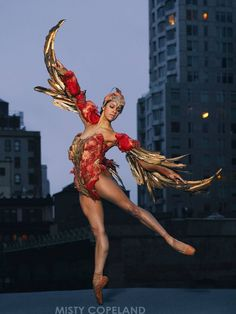 Misty Copeland.'The Firebird'
