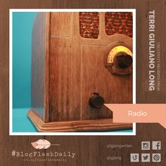 Today's creativity prompt is RADIO. prompts are provided every weekday by author Terri Giuliano Long. Writing Art, Prompts, Art Photography, Creativity, Blog, Fine Art Photography, Blogging, Artistic Photography