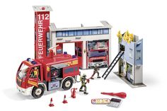 tiptoi Spielwelt Feuerwehr mit Revell Auto