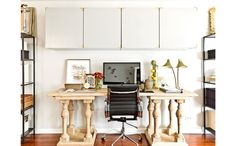 One of 11 Home Work Spaces to Inspire Productivity - BRYNN OLSON DESIGN GROUP (=)