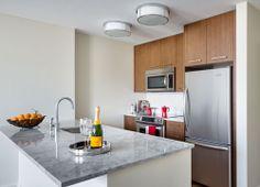 Kitchen at The Arlington in Boston Back Bay