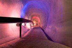 Sweetest ice cave ever.... Engelberg, Switzerland.