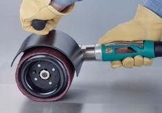 Pneumatic sander polisher - 2800 rpm | Dynisher 13450 - DirectIndustry